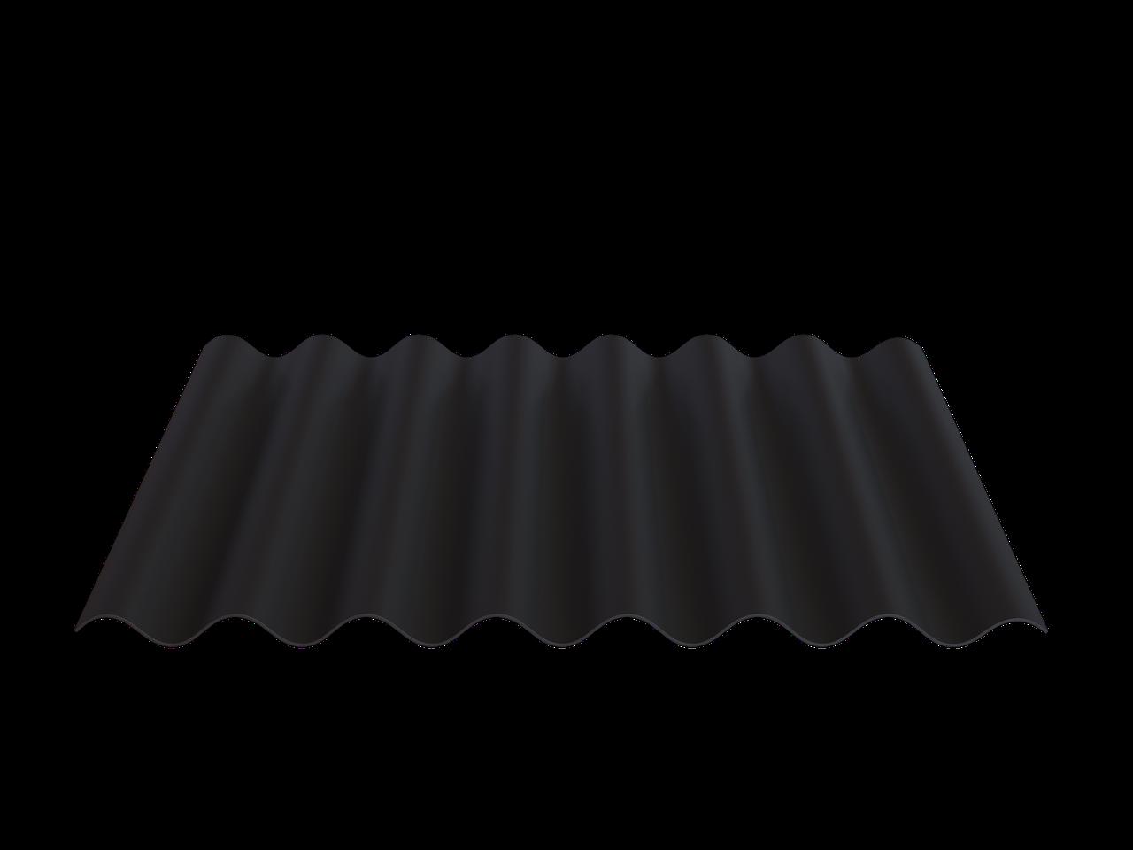 FIBRODAH Modern Фіброцементний лист - 1130х585 Чорний