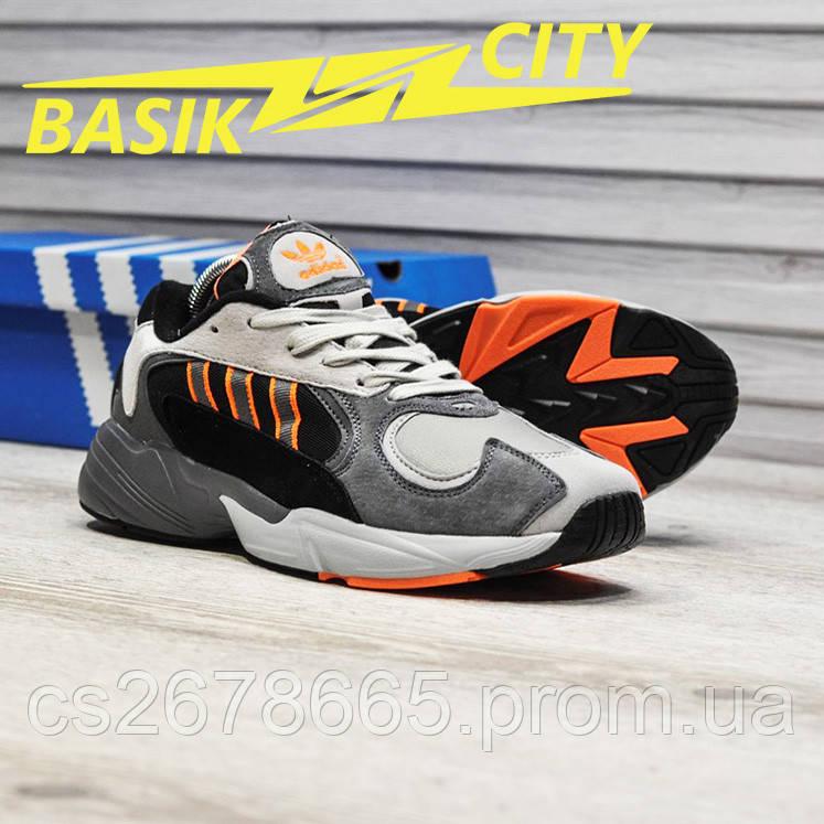 Мужские кроссовки Adidas Yung Gray Black