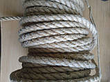 Канат  джутовый д.16мм (100м), фото 4