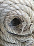 Канат  джутовый д.16мм (100м), фото 5