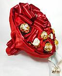 Букет из конфет Ferrero Rocher Красный, фото 2