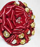 Букет из конфет Ferrero Rocher Красный, фото 3