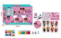 Кукла L.O.L сюрприз в шаре набор 6 шт «Секретные послания»  ЛОЛ. JL 18571 ***
