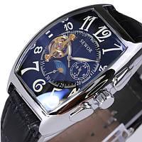 SEWOR Rectangle Luxury Leather Механический Аналоговые наручные часы для мужчин - 1TopShop