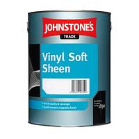 JOHNSTONE'S Vinil Soft Sheen 5л водоэмульсионная краска для стен и потолков