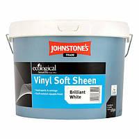 JOHNSTONE'S Vinil Soft Sheen 10л водоэмульсионная краска со средним уровнем глянца для внутренних поверхностей