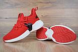 Мужские кроссовки Adidas Alphabounce Instinct красные. Живое фото (Реплика ААА+), фото 4