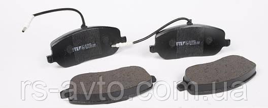 Колодки тормозные (передние) Fiat Scudo/Peugeot Expert 96-06 (с датчиками), фото 2