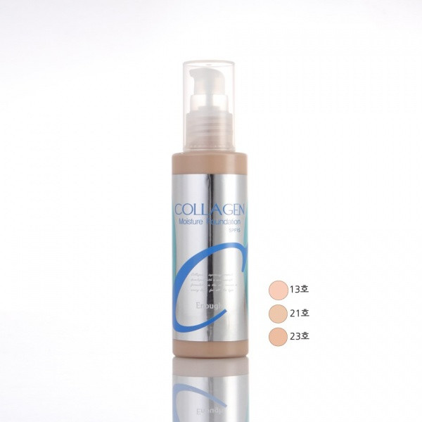 Тональный крем-основа Enough Collagen Moisture Foundation SPF 15 молочный беж тон 13