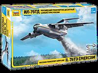 Российский транспортно-десантный самолет Ил-76 ТД МЧС России