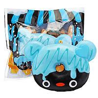 Yummiibear Mrflippii Пончик Медведь Squishy Cute Медленный Risng Игрушка в подарок с упаковкой Сумка 1TopShop