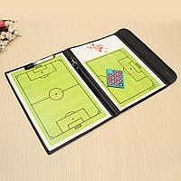 Папка коучинг доска магнитная тренировка футбол Tactical комплект футбол спорт 1TopShop