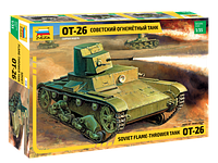 Советский огнеметный танк ОТ-26, фото 1