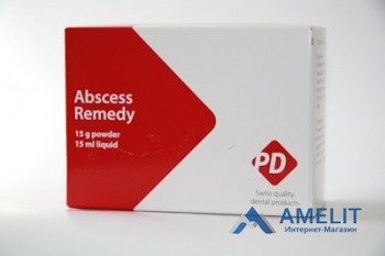 Абсцесс Ремеди (Abscess remedy, PD), набор 15г+15мл