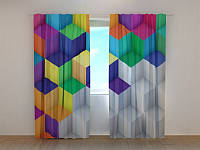 Фото шторы Кубик 250 х 260 см