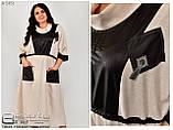 Льняное платье большого размера   62-64.66-68.70-72, фото 2