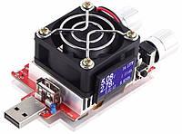 Электронная нагрузка 3A 35W  с USB/miniUSB/Apple/TypeC, тест кабелей, зарядок, павербанков, БП. , фото 1