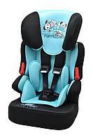 Детское автокресло X-DRIVE PLUS BLUE&BLACK PUPPIES