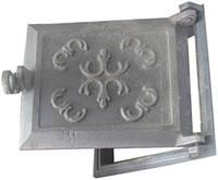 Дверь топочная чугун ( вишиванка ,павутинка)