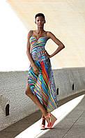 Яркая стильная и модная юбка — платок идеально подходящая под любую расцветку купальника из новой коллекции польского бренда FEBA 2019 модель F 123 /