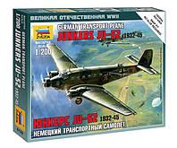 "Немецкий транспортный самолёт ""Юнкерс"" Ju-52 1932-1945"