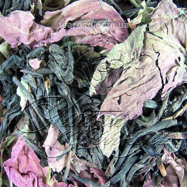 Чорний чай «Оксамитовий кущ»
