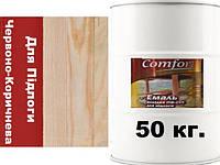 Фарба Червоно-Коричнева ПФ-266 для підлоги  Комфорт 50 кг.