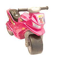 Мотоцикл для катания Ориончик (розовый), толокар - каталка детская орион Украина 501