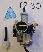 Карбюратор pz-30 с ускорительным насосом