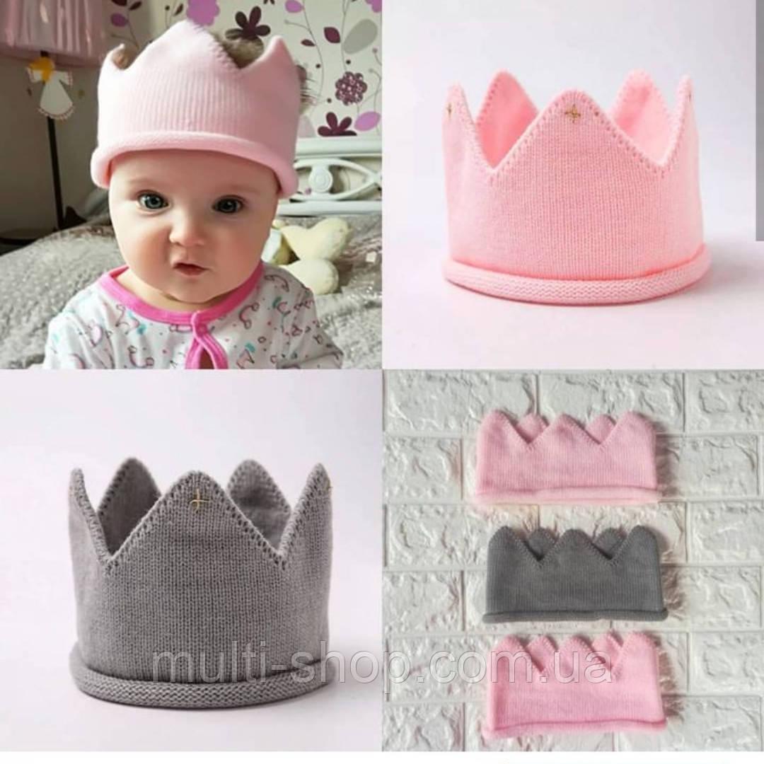 вязаная корона детская цена 13260 грн купить в киеве Promua