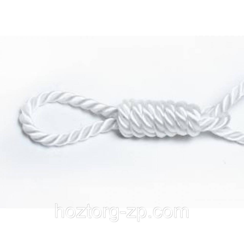 Канат(верёвка)  трёхпрядная лавсановая  д.4 мм