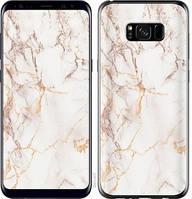 "Чехол на Samsung Galaxy S8 Plus Белый мрамор ""3847c-817-15158"""