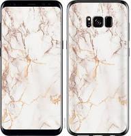 "Чехол на Samsung Galaxy S8 Белый мрамор ""3847c-829-15158"""