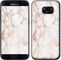 "Чехол на Samsung Galaxy S7 G930F Белый мрамор ""3847c-106-15158"""