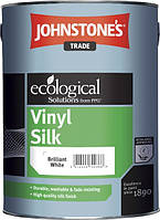 JOHNSTONE'S Vinil Silk 5л водоэмульсионная краска для внутренних работ с шелковым эффектом