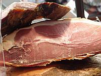 Настоящая Закарпатская сырокопчёная шонка (мякоть свиного окорока