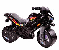 Мотоцикл для катания Ориончик (черный), толокар - каталка детская Орион Украина501