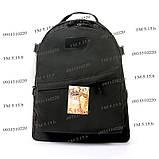 Тактический, городской рюкзак 30 литров черный 161/01 без MOLLE, фото 2