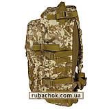 """Тактический рюкзак крепкий """"Cool walker"""" светлый пиксель 50 литров., фото 3"""