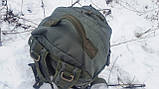Тактический туристический крепкий рюкзак трансформер 40-60 литров афган. Нейлон 600 Den., фото 9