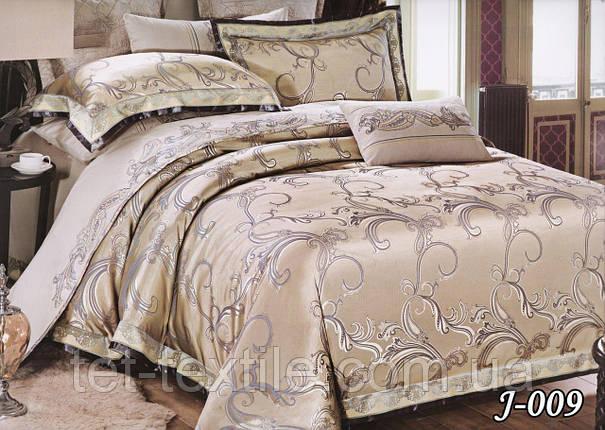 Комплект постельного белья из жаккарда ТЕТ Текстиль (евро), фото 2