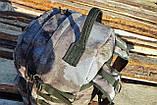 Тактический походный крепкий рюкзак 40 литров мультикам. Кордура 1000 Den., фото 3