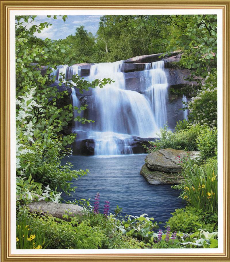 Фотошпалери Водоспад споглядання 242*207 (15л)