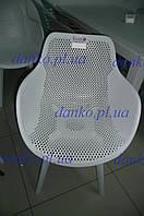 Стул для кафе с подлокотниками OW-229 NELSON (Нельсон), белый пластик от Kashtan