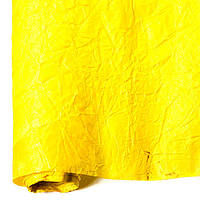 Бумага для упаковки подарков President 70 см 5 м жатая желтая