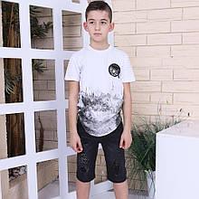 Модная футболка на мальчика от 4 до 8 лет Nanica Kids