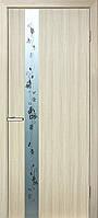 "Двери ПВХ ОМиС 2000х600х34 ""Зеркало2 150мм"" дуб беленый"