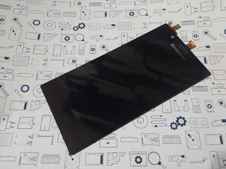 New. Оригинал Lenovo K900 дисплей (модуль) Черный