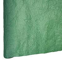 Бумага для упаковки подарков President 70 см 5 м жатая зеленая