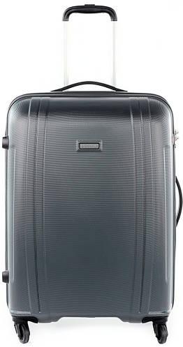 Пластиковый чемодан-гигант 115 л. Puccini PC 015, 8804/5 антрацит